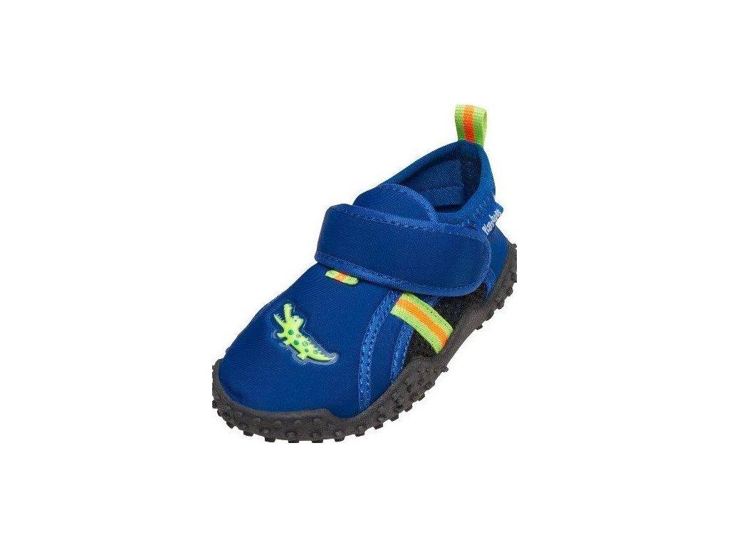 Kvalitní dětské lehké a prodyšné boty do vody Playshoes krokodýl