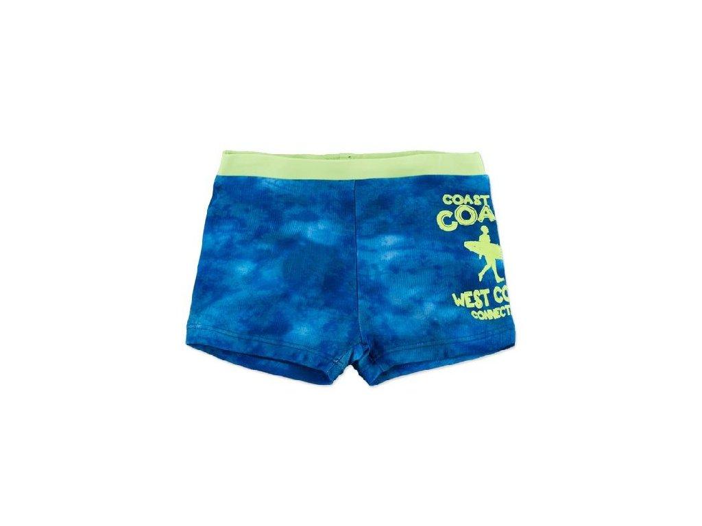 Kvalitní chlapecké rychleschnoucí šortkové plavky s UV ochranou Losan West coast modré