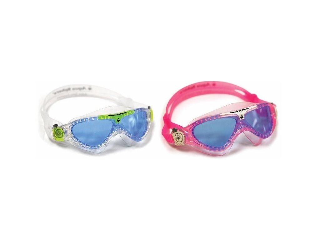 Plavecké brýle Aqua Sphere Junior Vista /modrý zorník/