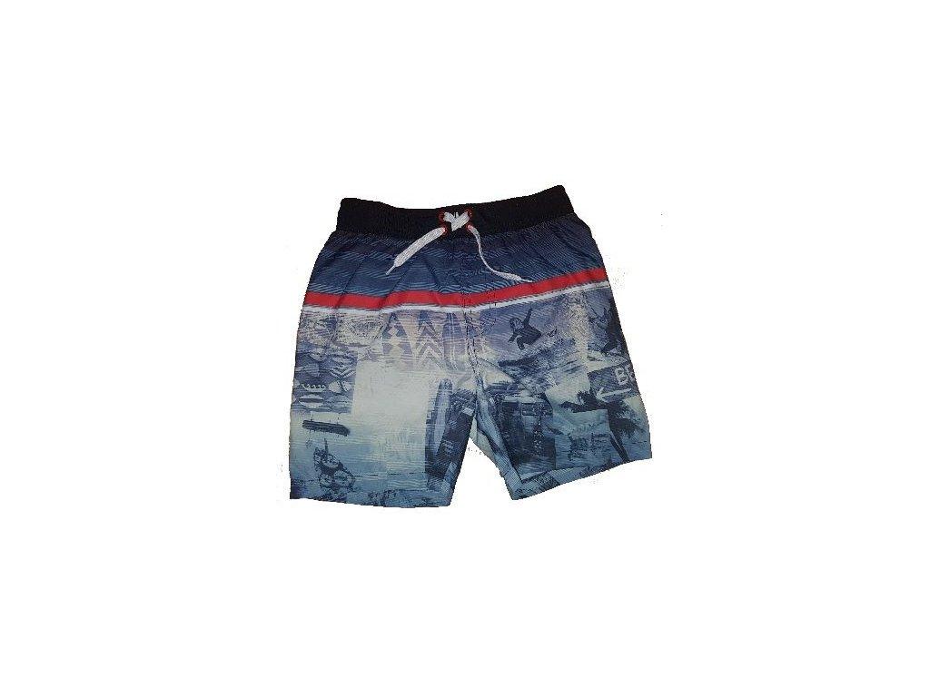 Chlapecké plavky Losan Beach tmavě modré