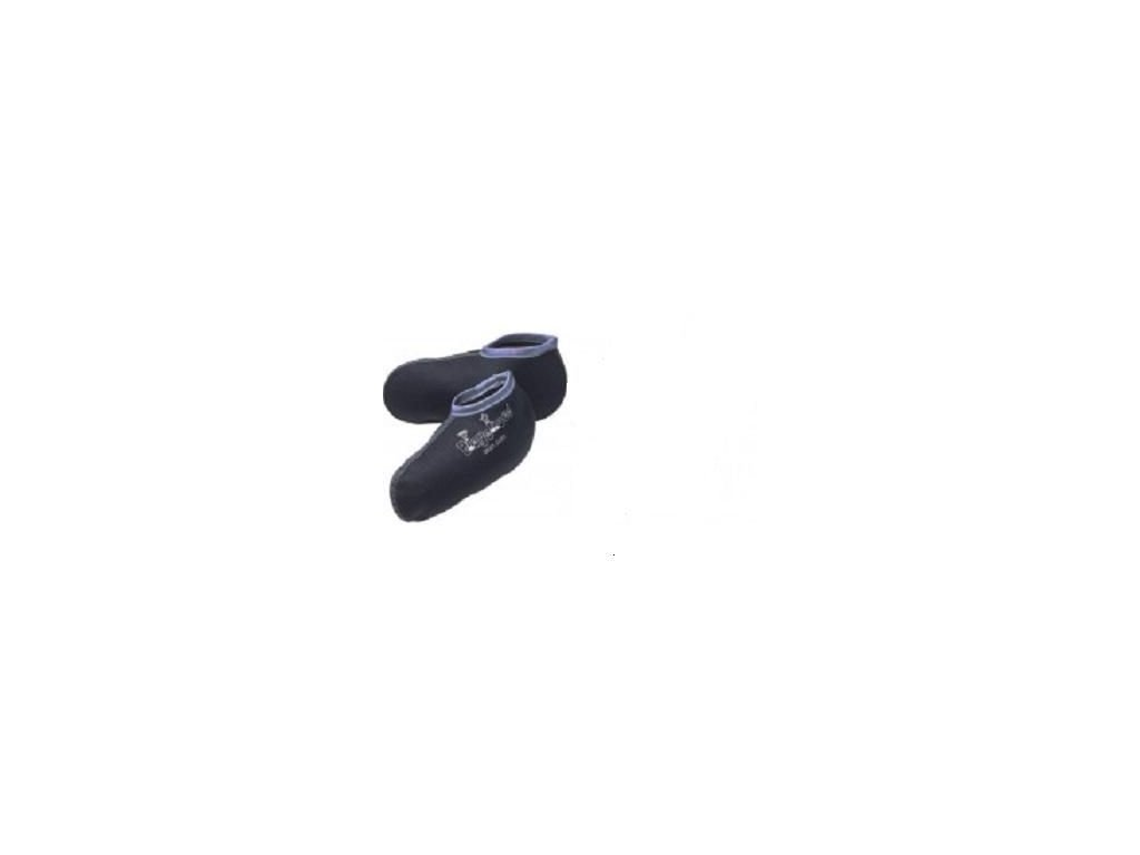 Kvalitní dětské bavlněné vložky pro zateplení gumáků Playshoes s modrým okrajem