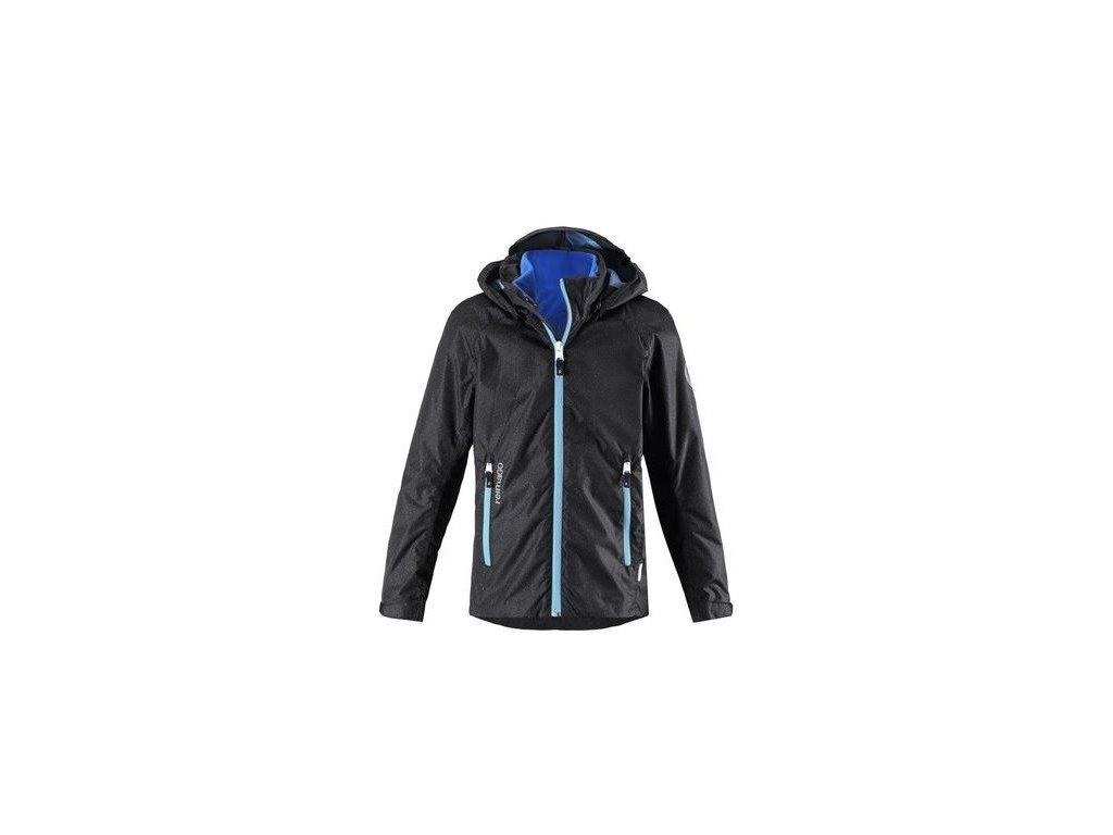 Dětská bunda 3v1 Reima Travel - Black