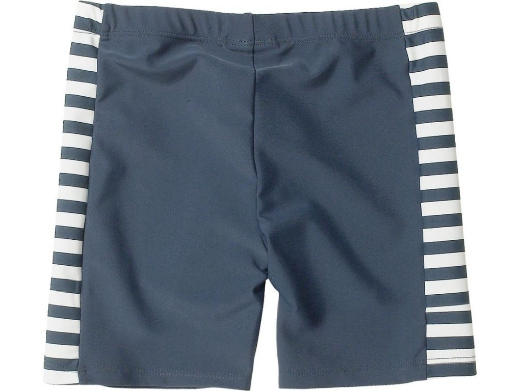 Kvalitní dětské chlapecké prodyšné jednodílné plavky Playshoes Námořník v modré barvě