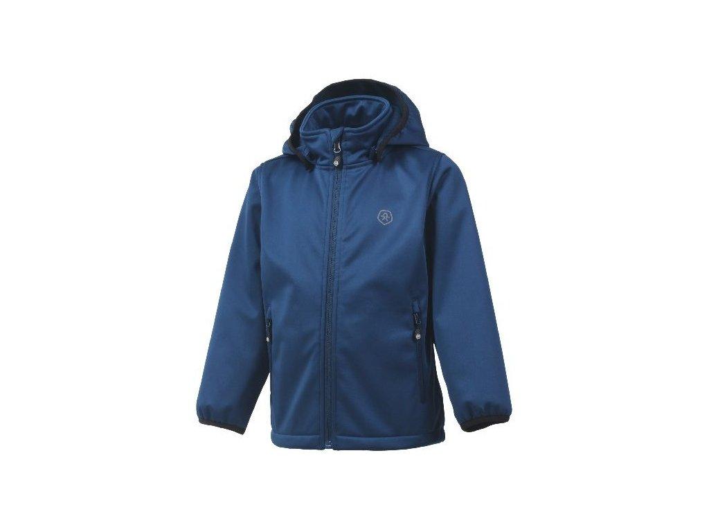 Softshellová bunda Color Kids Ralado - Estate blue