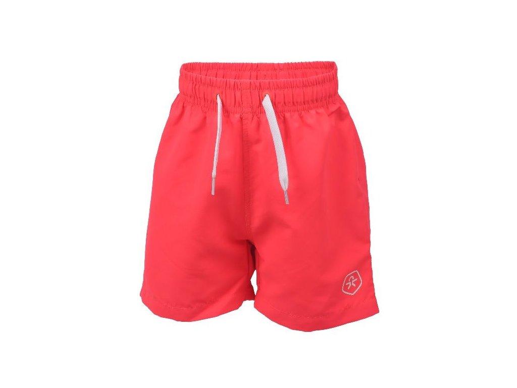 Kvalitní chlapecké rychleschnoucí šortkové plavky s UV ochranou Color Kids Bungo - Diva pink