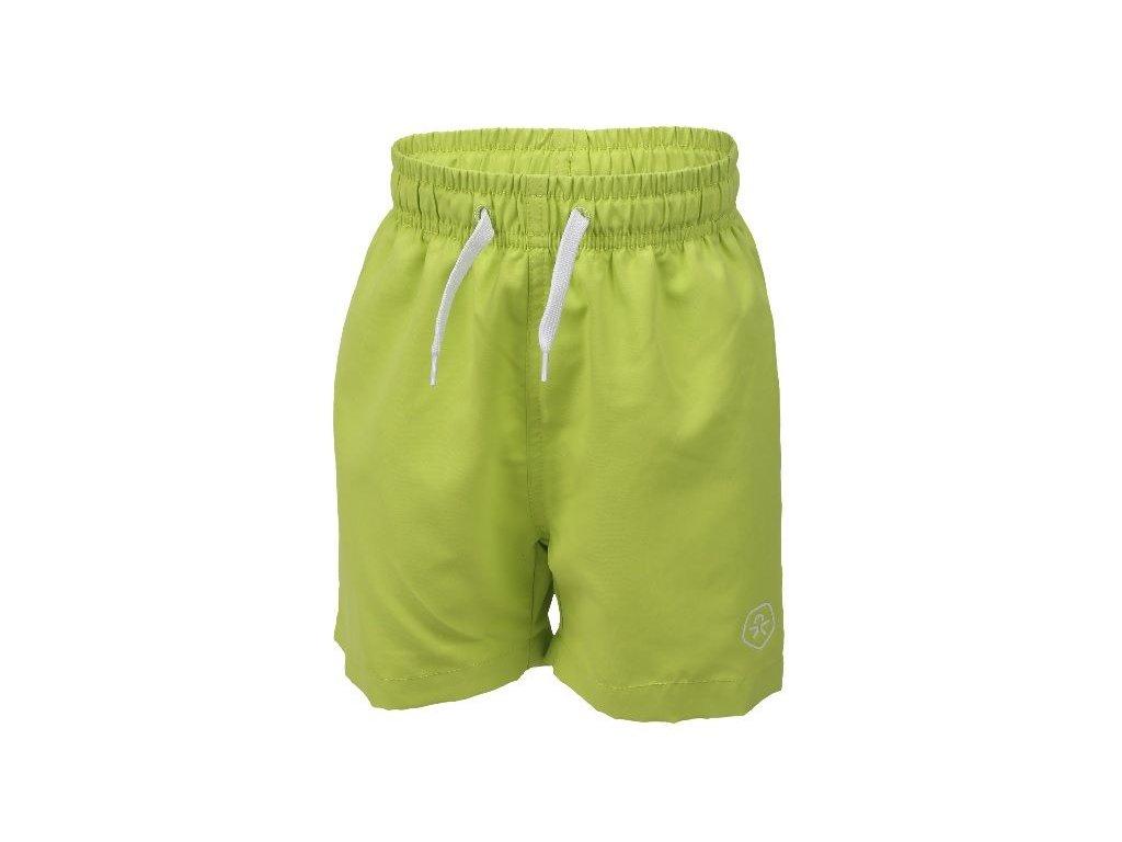 Kvalitní chlapecké rychleschnoucí šortkové plavky s UV ochranou Color Kids Bungo - Tender shoot