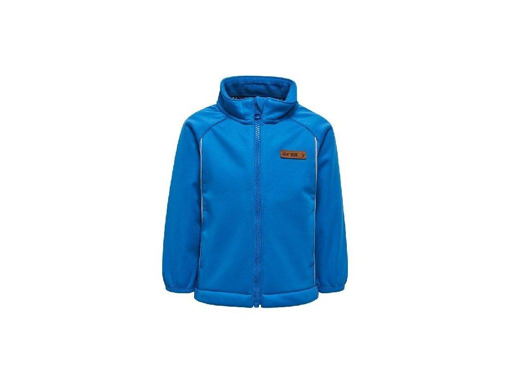 Chlapecká softshellová bunda LEGO® Wear Sander 206 modrá