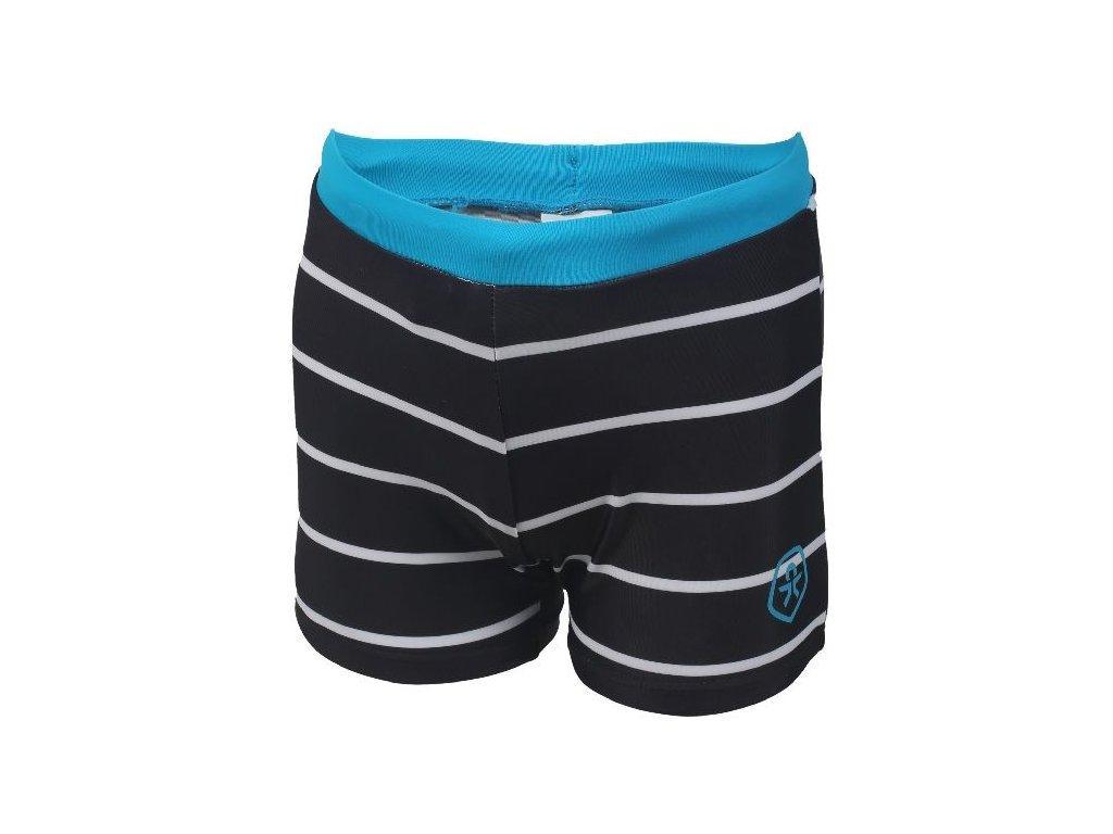 Kvalitní chlapecké rychleschnoucí šortkové plavky s UV ochranou Color Kids Norwich - Phantom