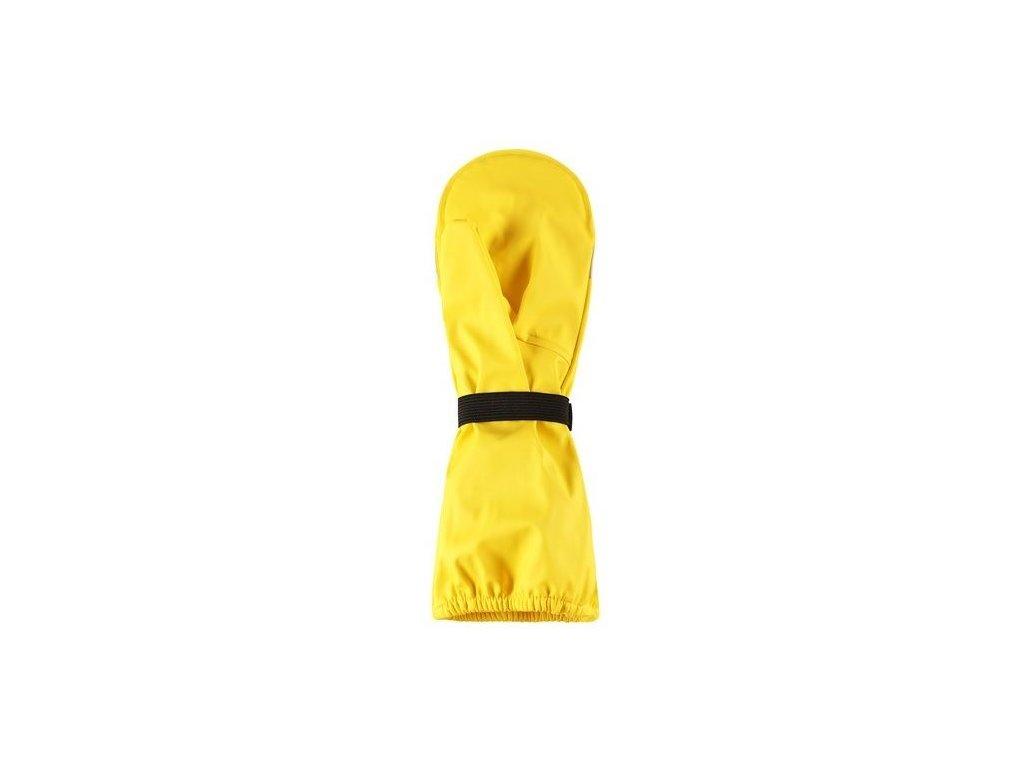 Kvalitní dětské zimní nepromokavé rukavice palčáky Reima Kura Yellow ve žluté barvě