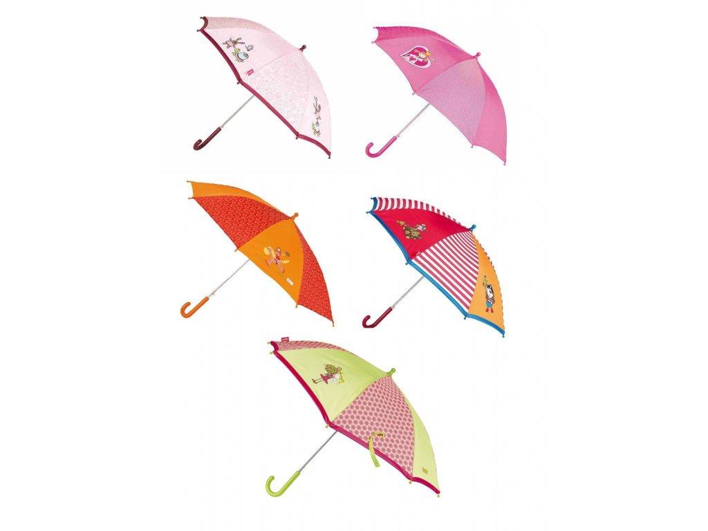 Kvalitní dětský deštník s automatickým otvíráním pro holky v různých motivech Sigikid