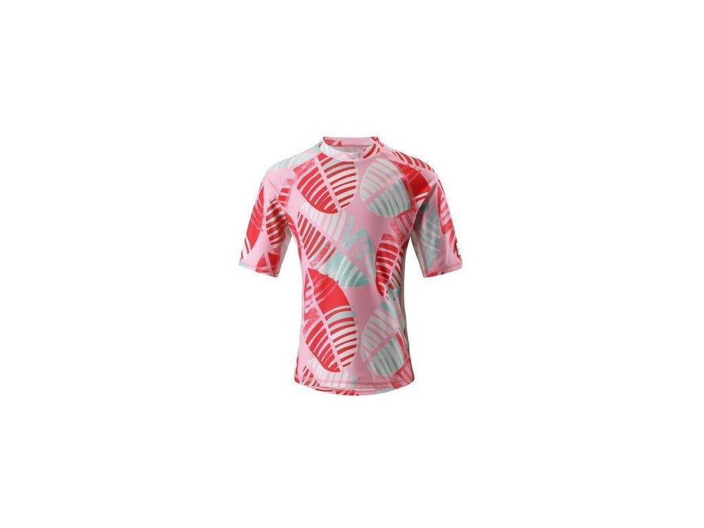Dětské UV tričko Reima Fiji - Bright red