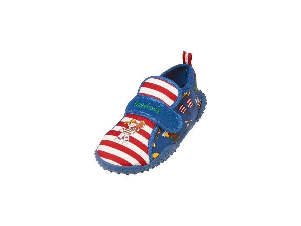 Kvalitní dětské lehké a prodyšné boty do vody Playshoes Pirate Island