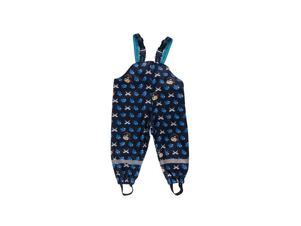 Nepromokavé kalhoty Maximo modré s pirátem