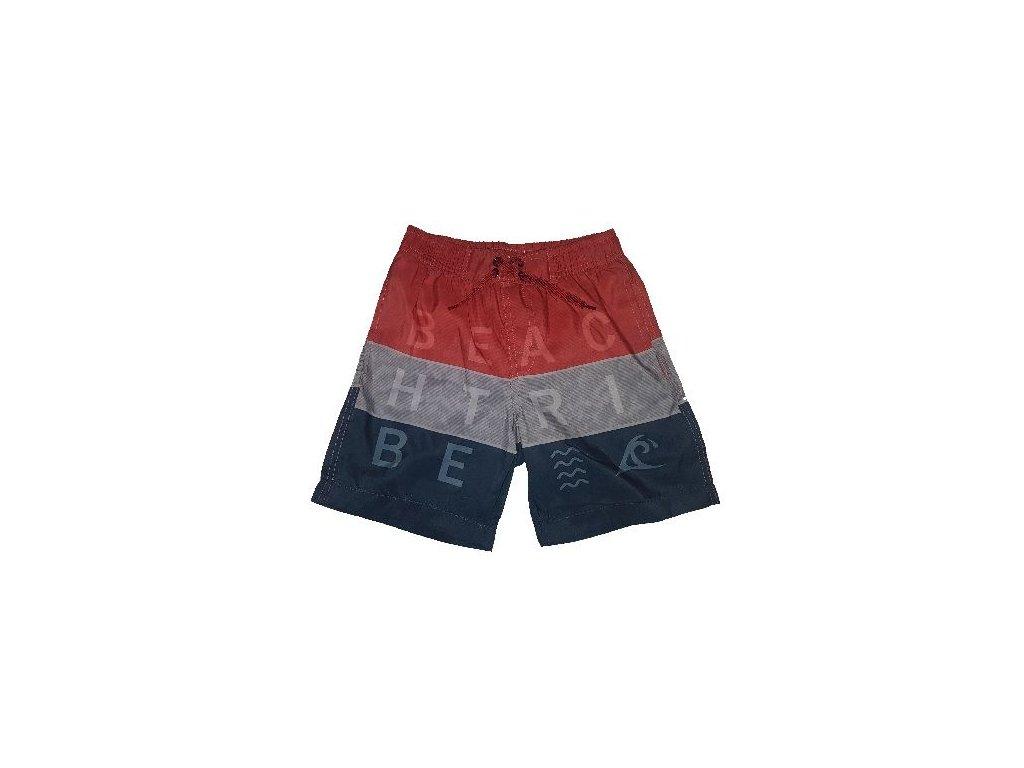 Chlapecké plavky Losan modro-červené