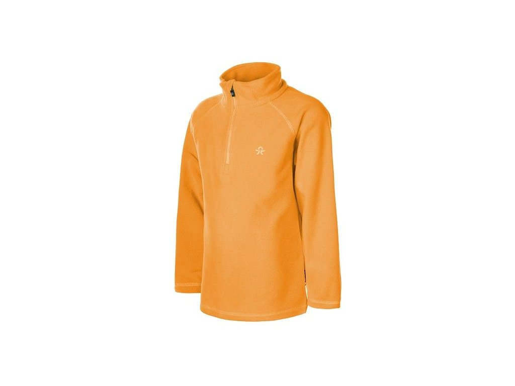 Color Kids Microfleece Sandberg ski pulli oranžová