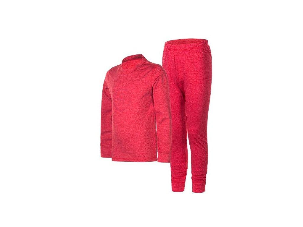 Kvalitní dětská teplá a příjemná thermo souprava Scone Color Kids v růžové barvě
