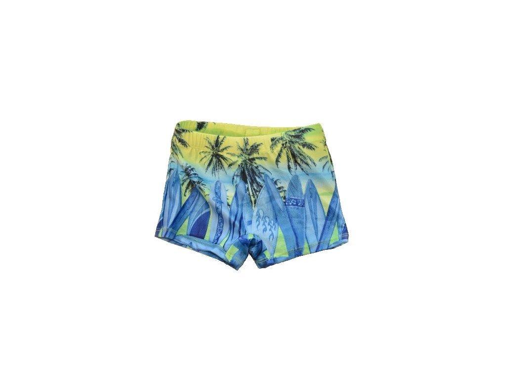 Chlapecké plavky Losan palmy limetkové