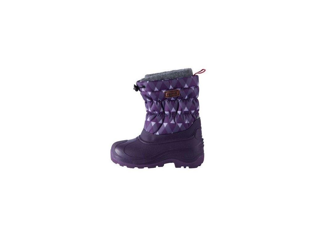 Dětské zimní boty Reima Ivalo Deep violet