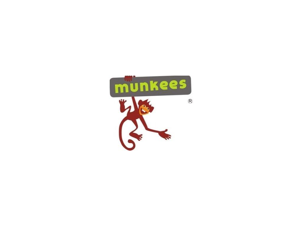 Přívěsek Munkees Led baterka s karabinou- různé barvy