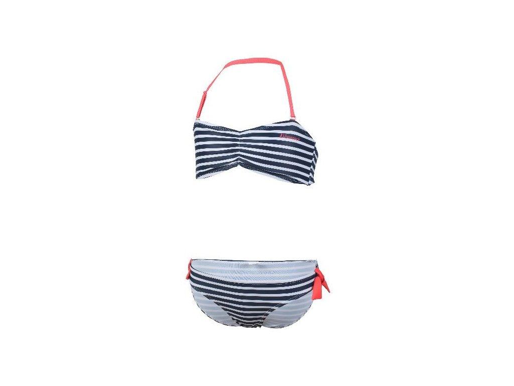 Kvalitní dívčí rychleschnoucí 2-dílné plavky s UV ochranou Kilmanock Goldie marine