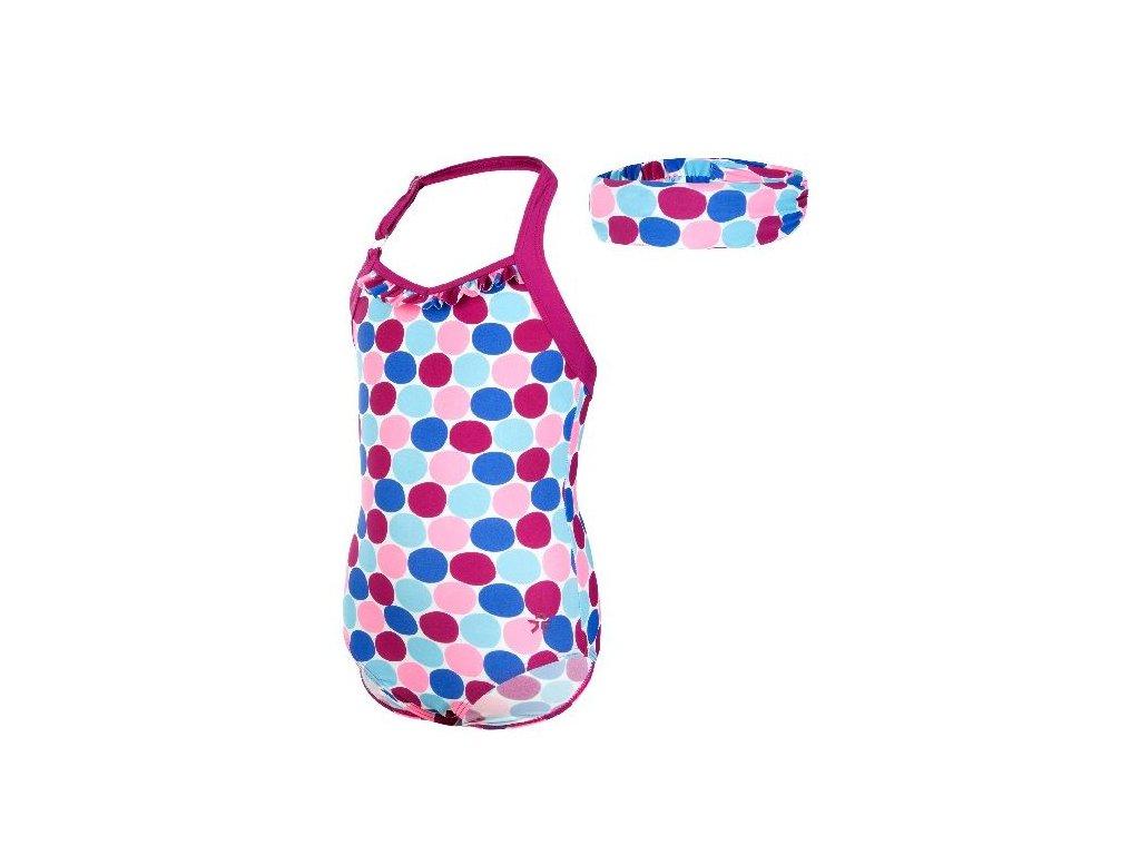 Dětské jednodílné plavky Vlaire Color Kids UPF 40+