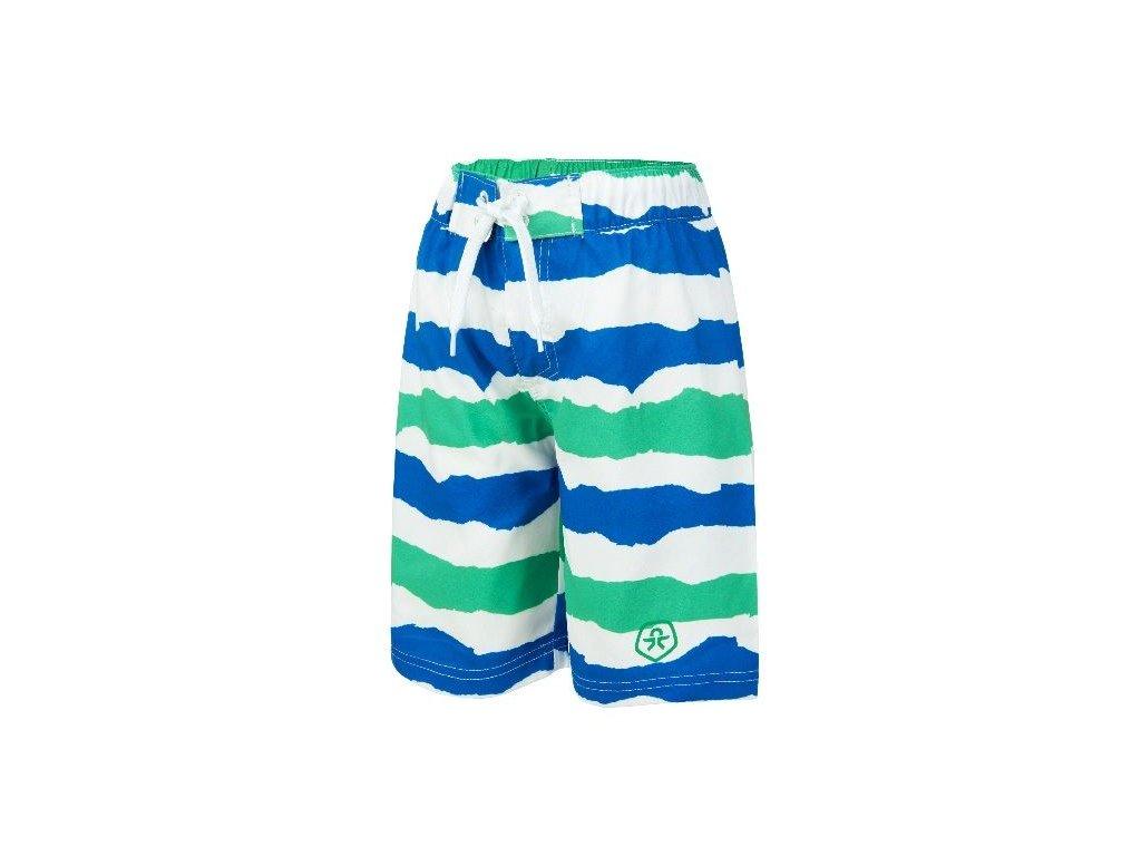Chlapecké plavky Veleo Color Kids zeleno-modré