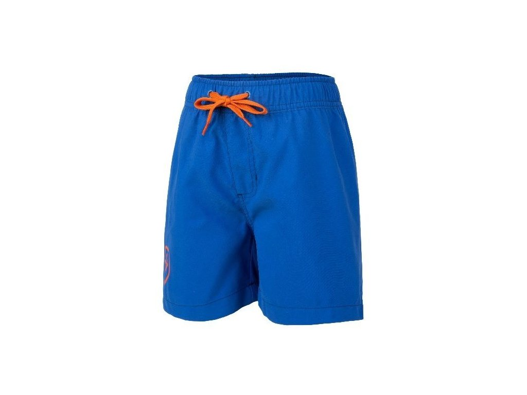 fea3b78ea Kvalitní chlapecké rychleschnoucí šortkové plavky s UV ochranou Bungo Color  Kids modré