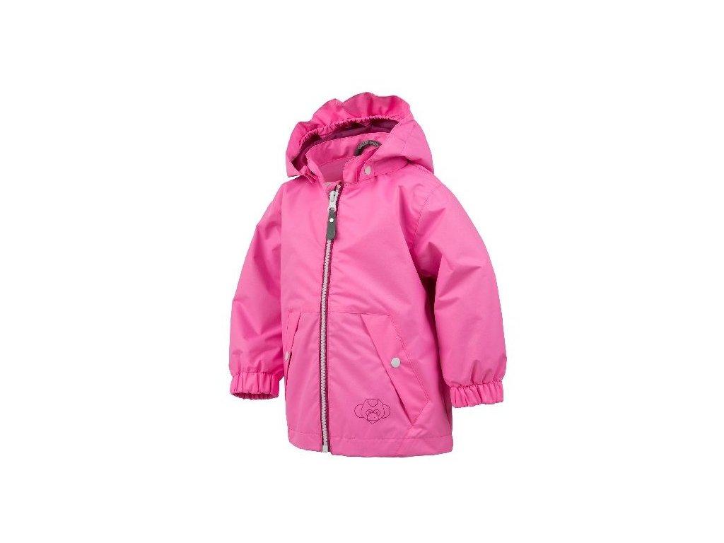 b991928f8d7e Kvalitní dětská nepromokavá jarní bunda s kapucí a reflexními prvky Color  Kids Veelitz mini v růžové