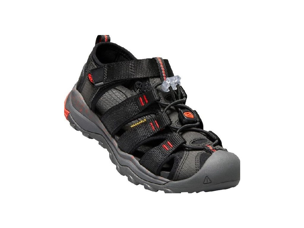 Keen Newport Neo H2 black/firey red