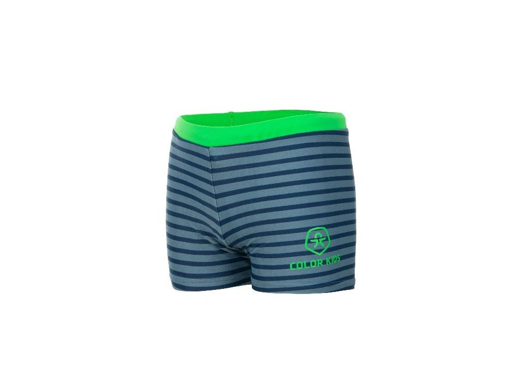 Kvalitní chlapecké rychleschnoucí šortkové plavky s UV ochranou Volmer Color Kids UPF 40+