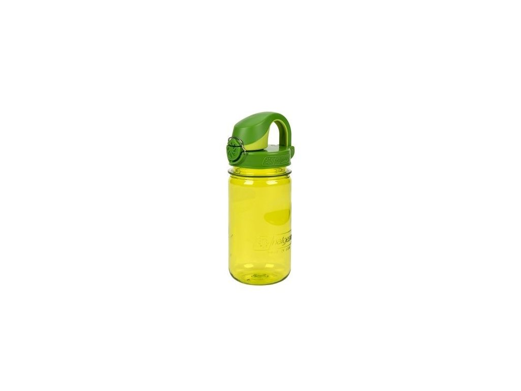 Kvalitní dětská plastová láhev bez BPA Nalgene OTF - zelená 350 ml v zelené barvě