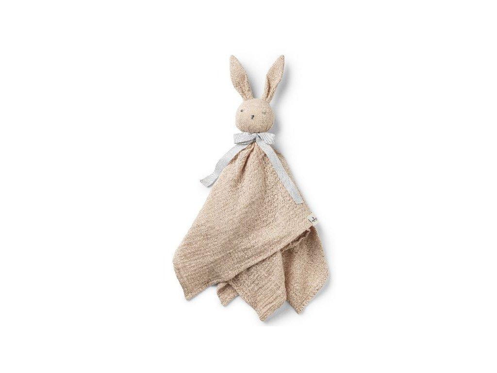 Kvalitní látková a bavlněná hračka pro ty nejmenší děti Muchláček Elodie Details Blinkie - Belle