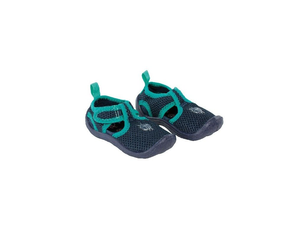 Kvalitní dětské lehké a prodyšné boty do vody Lassiq Beach Sandals Kids - Navy