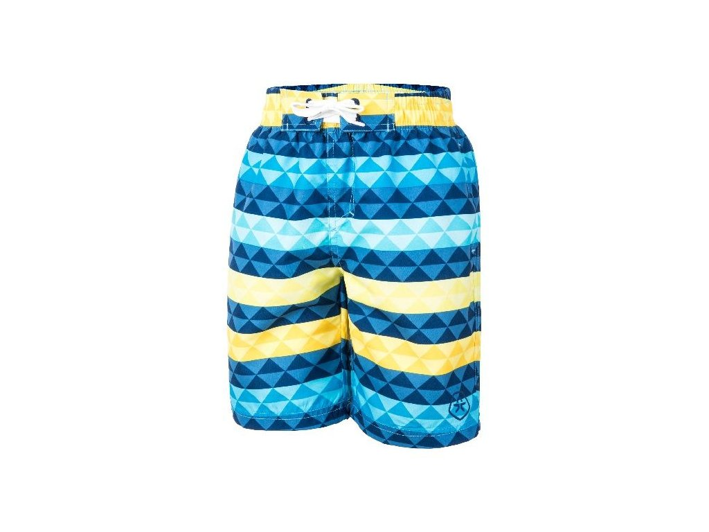 Kvalitní chlapecké rychleschnoucí šortkové plavky s UV ochranou Torben Color Kids - Estate blue