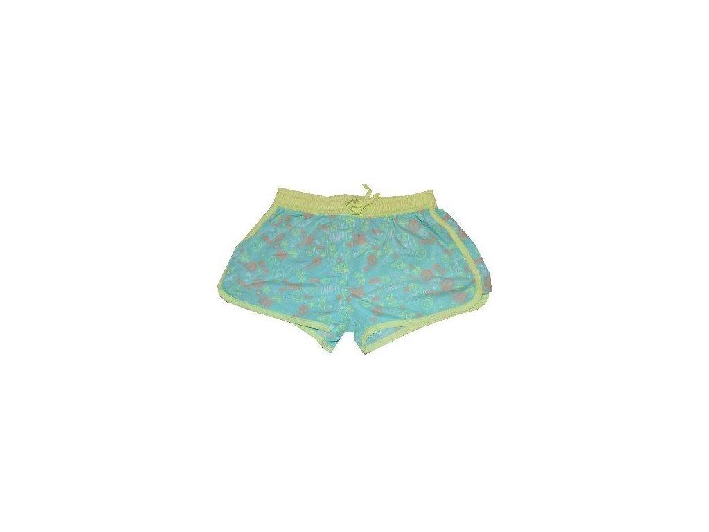 133ed502d Kvalitní dívčí rychleschnoucí šortkové plavky s UV ochranou Losan aqua
