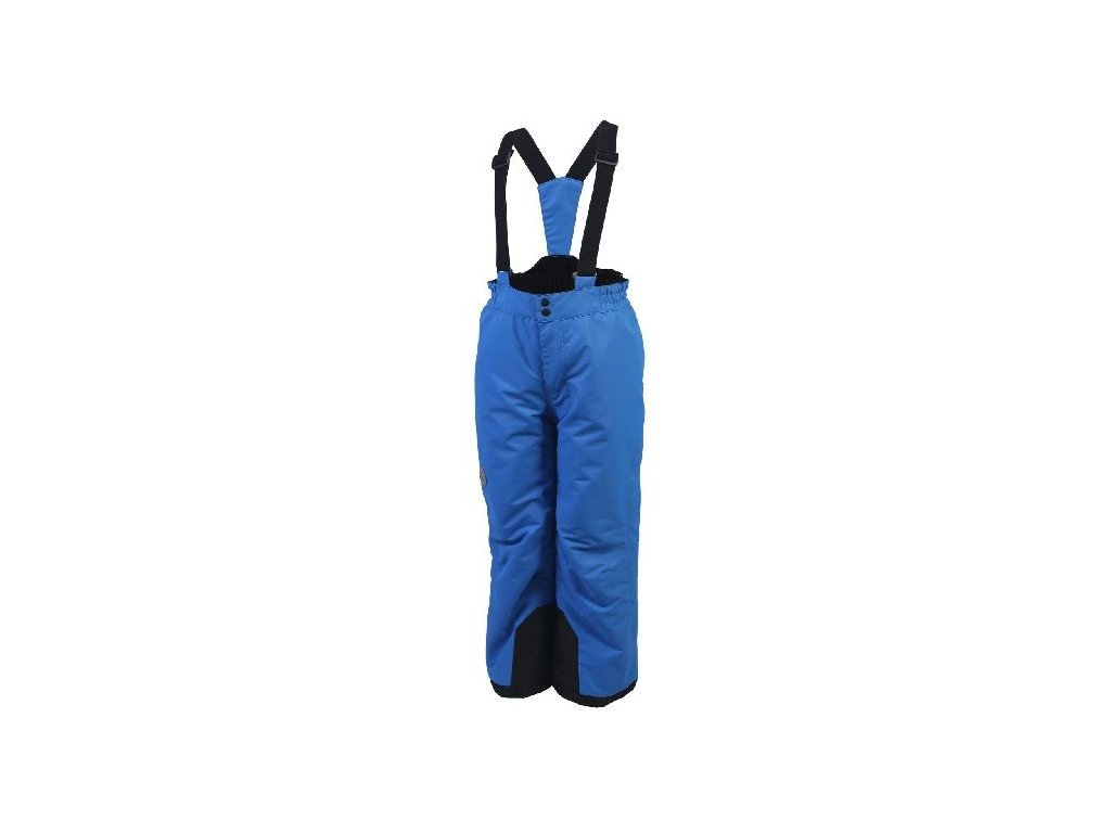 Kvalitní dětské zimní oteplovačky vhodné na lyže nebo zimní dovádění ve sněhu Color Kids Salix ski pants Princess blue v modré barvě