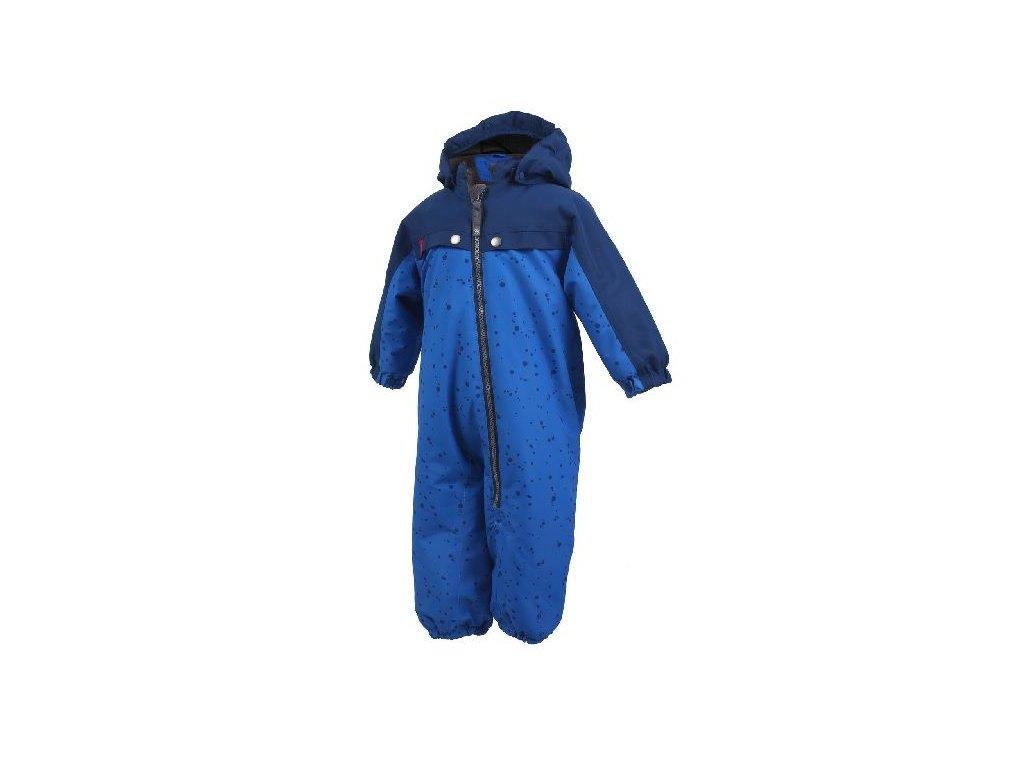 Kvalitní dětská zimní kombinéza s membránou Color Kids Kelby coverall Estate blue v modré barvě