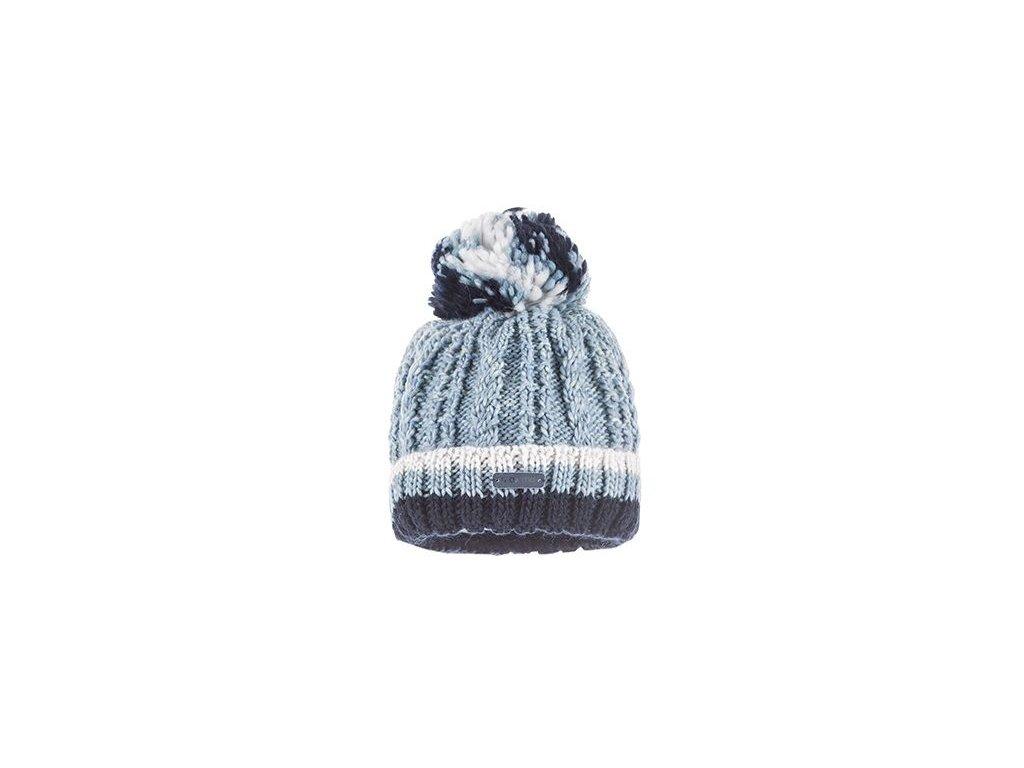 Kvalitní dětská pletená zimní čepice Maximo v šedé barvě