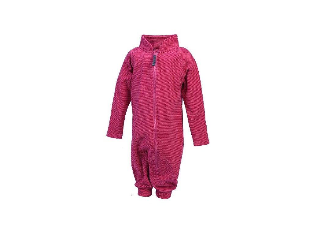 Color Kids Tudi mini fleece suit Rose camellia