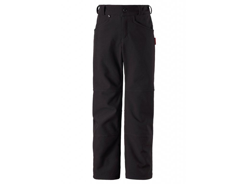 Kalhoty mají regulaci v pase, postranní kapsu a vnitřní kapsičku na senzor Reima Go