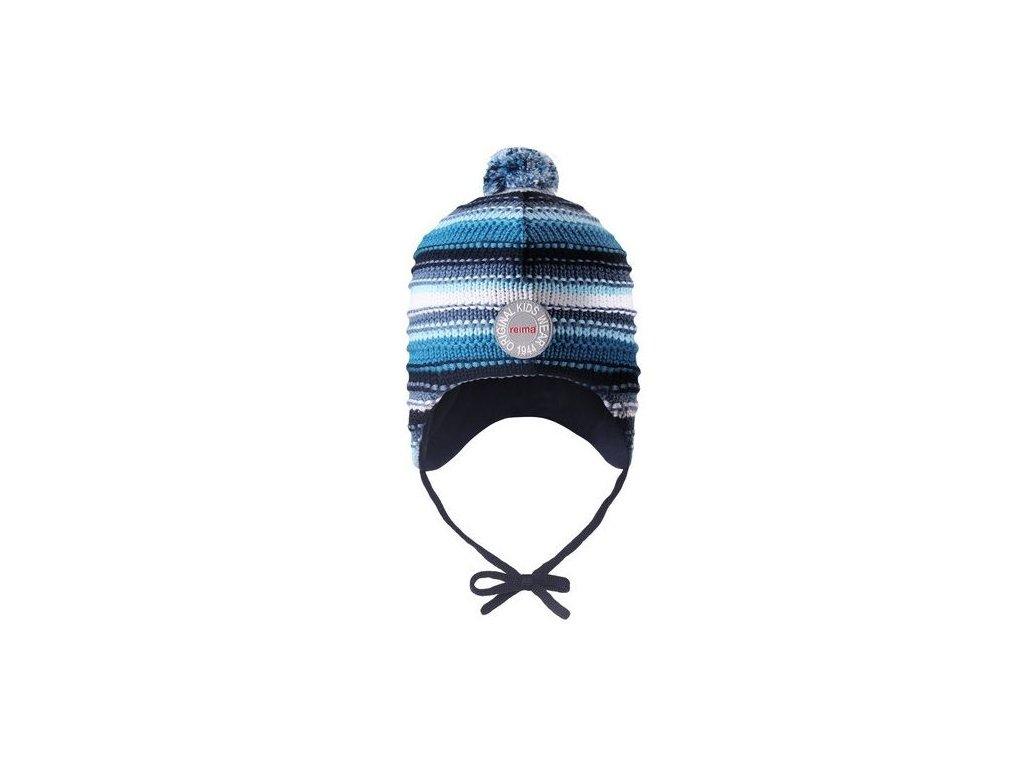 Dětská čepice Reima Kumpu Soft blue