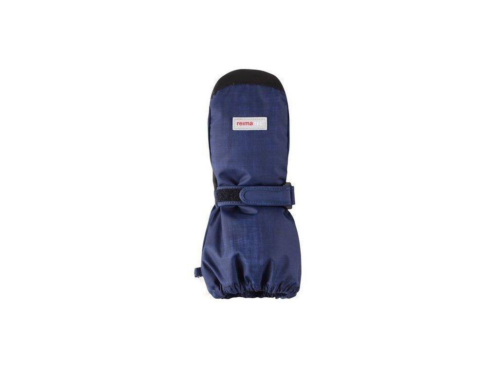 Kvalitní dětské zimní nepromokavé rukavice palčáky Reima Ote navy/black /2017/ v tmavě modré barvě