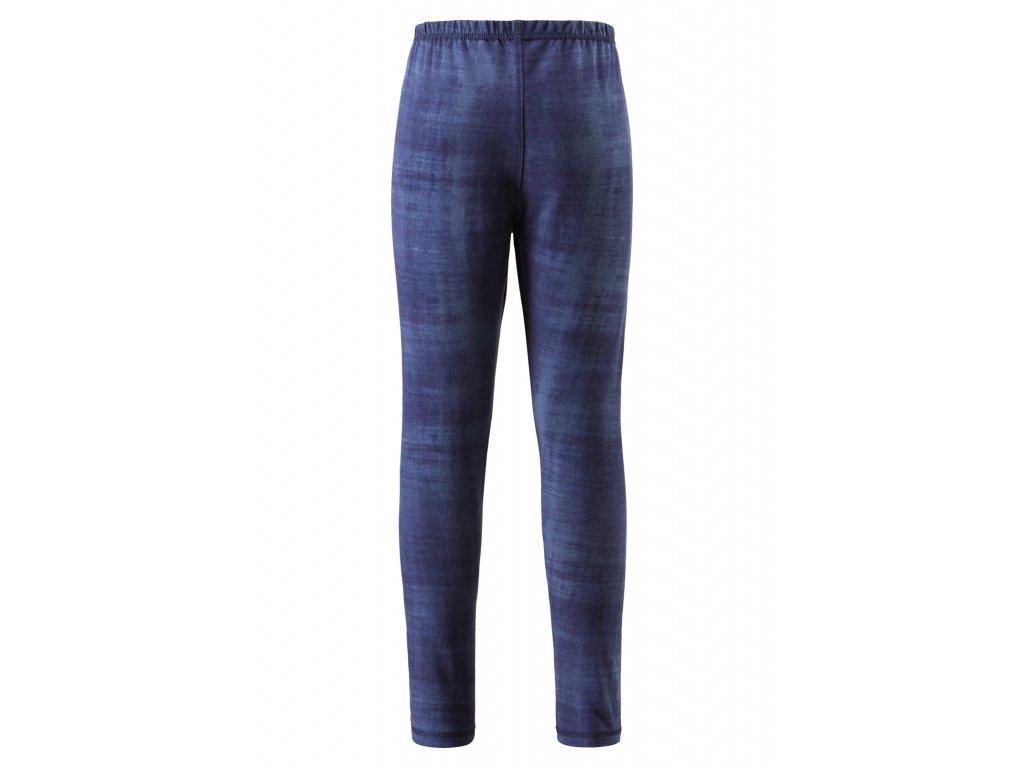 Kvalitní dětské teplé a příjemné funkční prádlo Reima Toimii Navy print v modré barvě