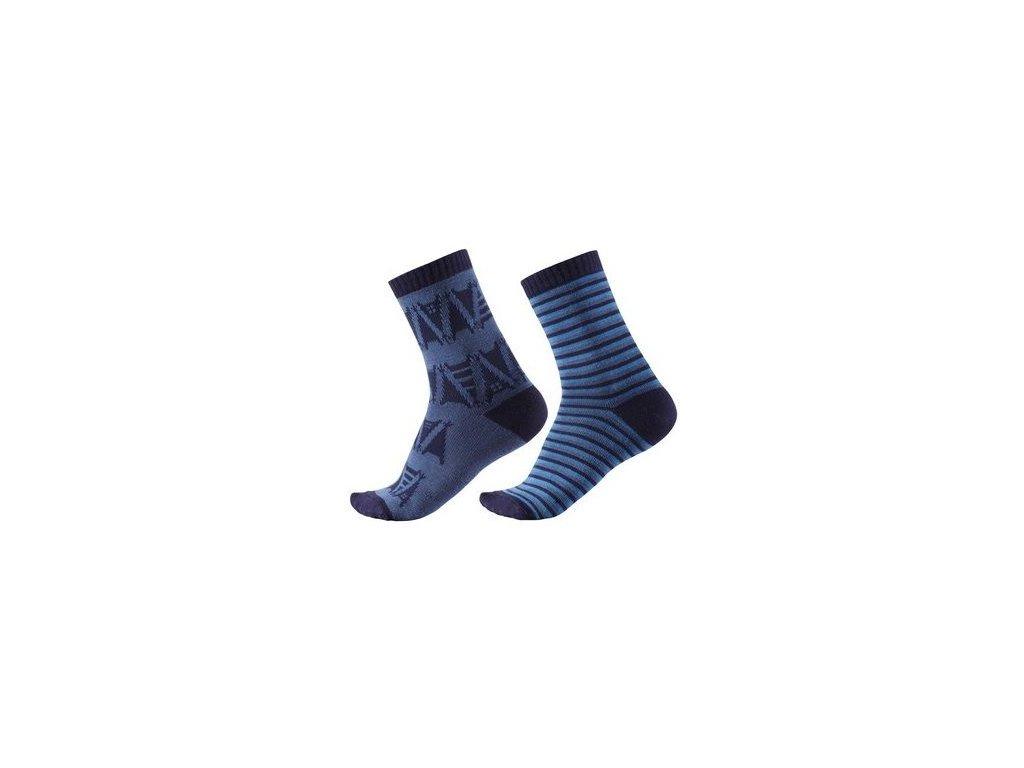 Kvalitní dětské vlněné zimní ponožky Reima Sturm ve světle modré barvě
