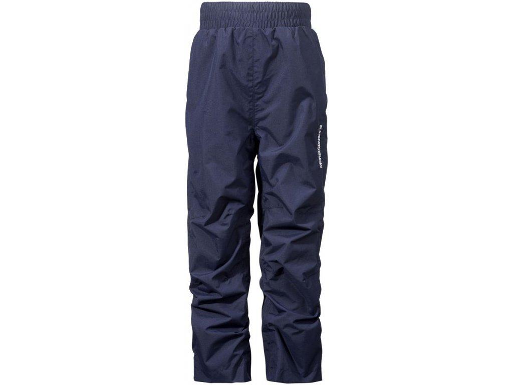 Kvalitní dětské funkční kalhoty pro volný čas Didriksons Nobi 2017 v tmavě modré barvě