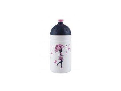 Zdravá láhev Dívka s deštníkem 0,5 l