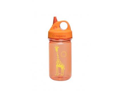 Kvalitní dětská plastová láhev bez BPA Nalgene Grip n´Gulp