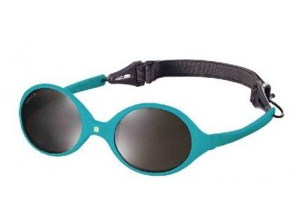 Dětské sluneční brýle KiETLA Diabola 0-18 m. - modrá paví