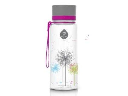 Kvalitní dětská plastová láhev vyrobena ze zdravotně nezávadného materiálu a bez BPA EQUA Dandelion 0,6 l