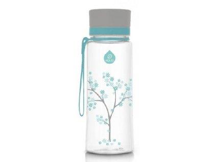 Kvalitní dětská plastová láhev vyrobena ze zdravotně nezávadného materiálu a bez BPA EQUA Mint Blossom 0,6 l